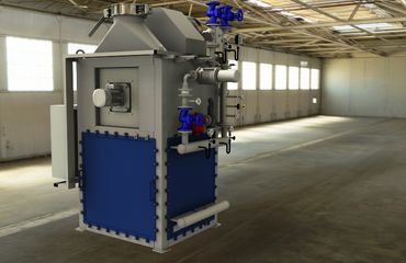 Waste heat utilisation / heat recovery for the utilisation of waste heat from the exhaust gases of a bogie hearth furnace