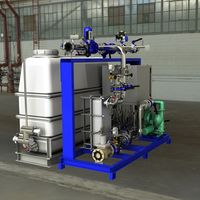 Industrial cooling plant for the cooling/tempering of a silage kiln with a cooling capacity of 200kW