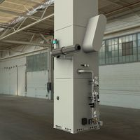 Thermal exhaust gas purification system - fully adapted to the customer's installation and process-related situations