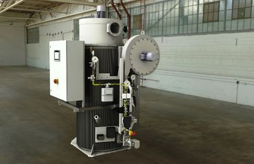 Thermal afterburning plant / thermal exhaust air purification plant in special design
